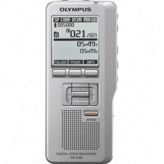 Olympus 14205 Ds-2400 Digital Voice Recorder
