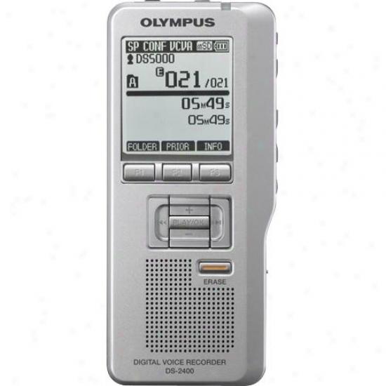 Olympus 14205 Ds-2400 Digital Voice Recorder