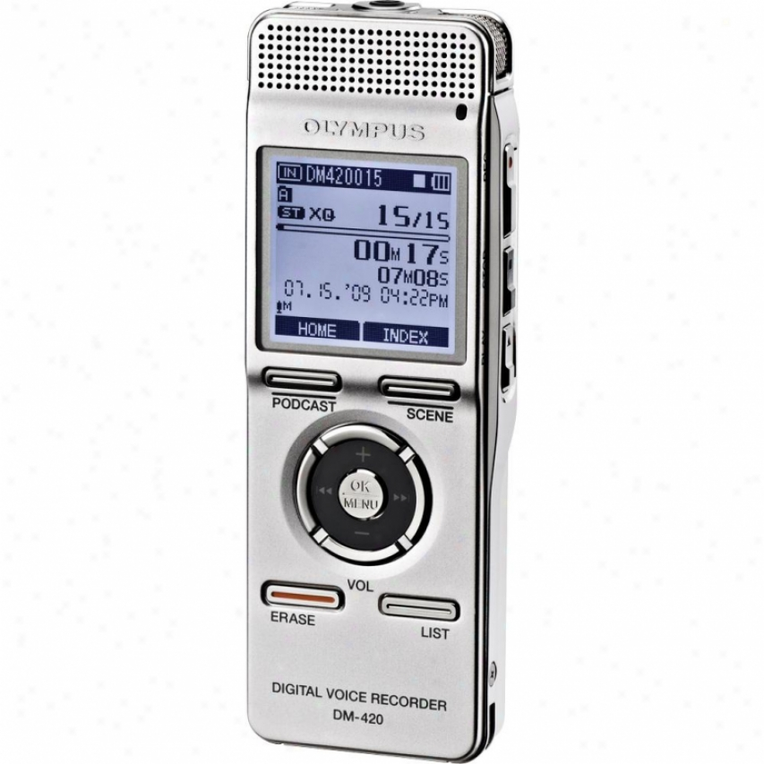 Olympus 2gb Digital Voice Recorder Dm420