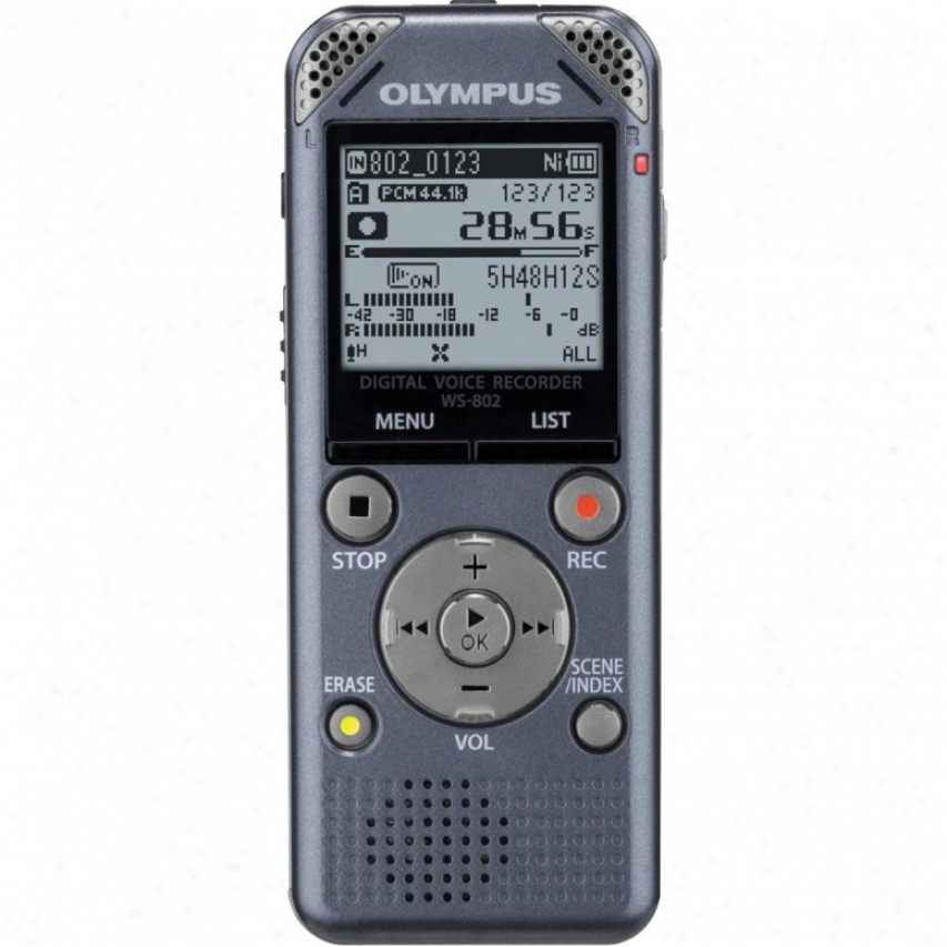 Olympus 4gb Digital Voice Recorder - Grey
