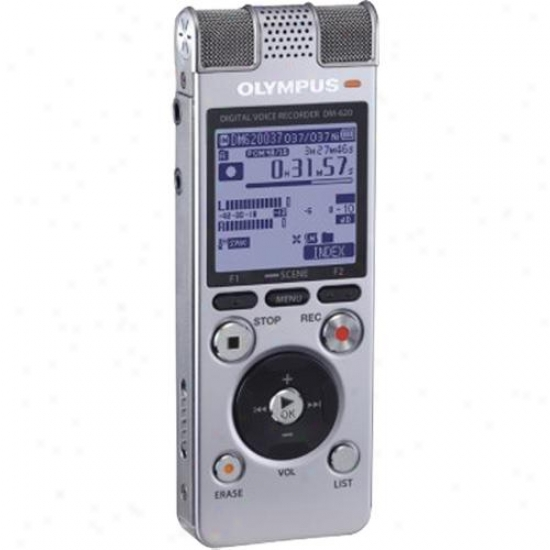 Olympus Digital Recorder W/ Music Player - Dm-620