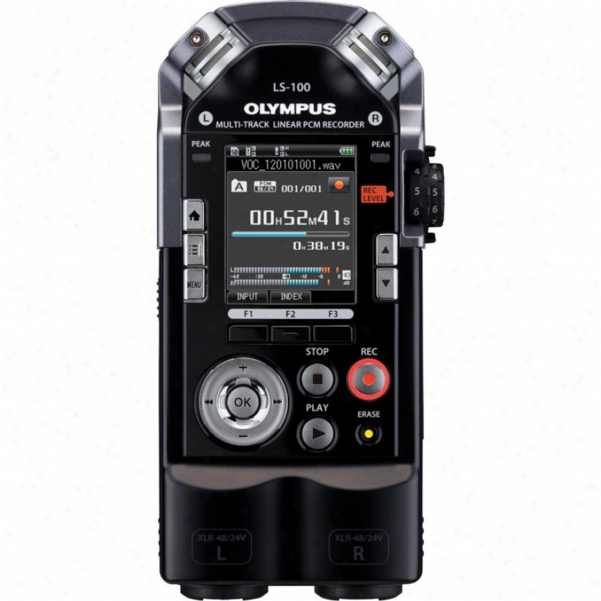 Olympus Ls-100 4gb Lineal Pcm Portable Digital Recorder
