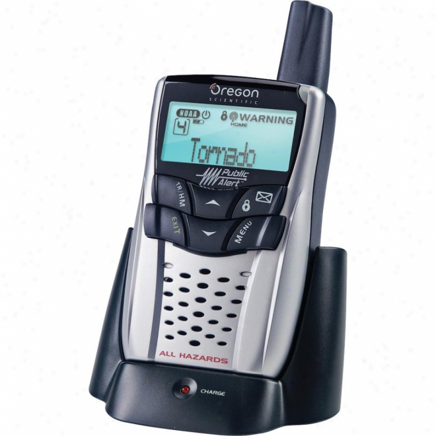 Oregon Scientific Weather Radio & Charge Cradle