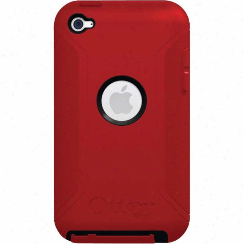 Otterbox Defender Ipod Touch 4 Black/re
