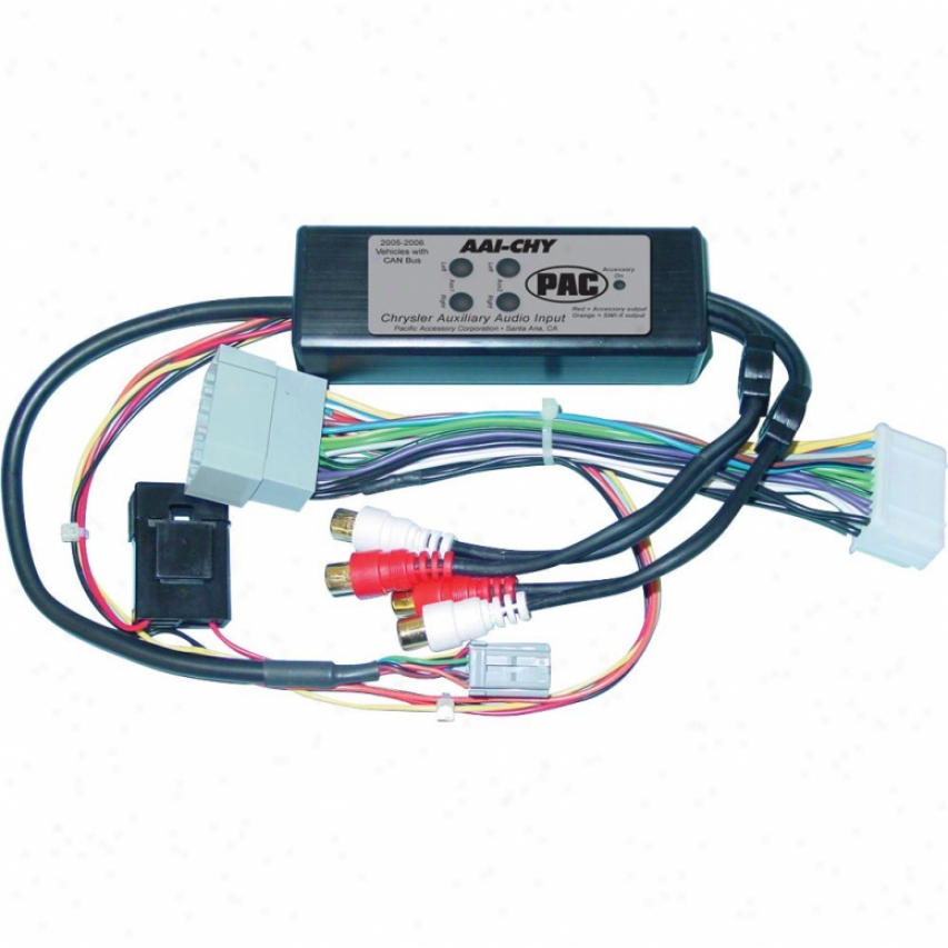 Pac Auxiliary Audio Input For 2005+ Chrysler Vehicles