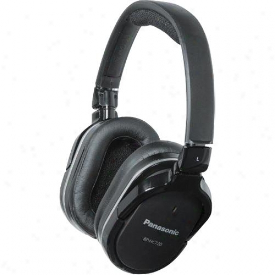 Panasonic Rp-hc720 Over Ear Noise Cancelling Headphones
