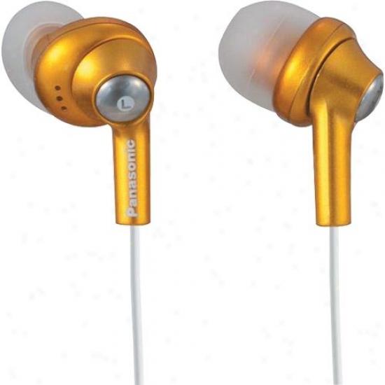 Panasonic Rp-hje280 Ergofit In-ea5 Headphones - Orange