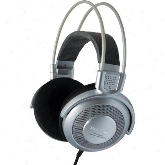 Panasonic Rp-htf890 Full Size Over Ear Monitor Headphones