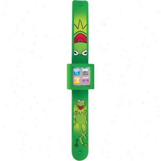 Pdp Mobils Disney Watch Wrist Strap For Ipod Nano 6g - Kermit