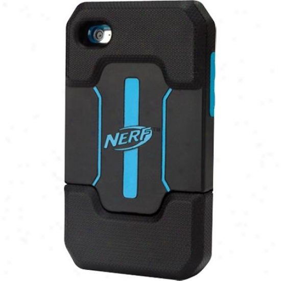 Pdp Mobile Nerf Armor Foam Cas For Ipod oTuch 4g Black/blue