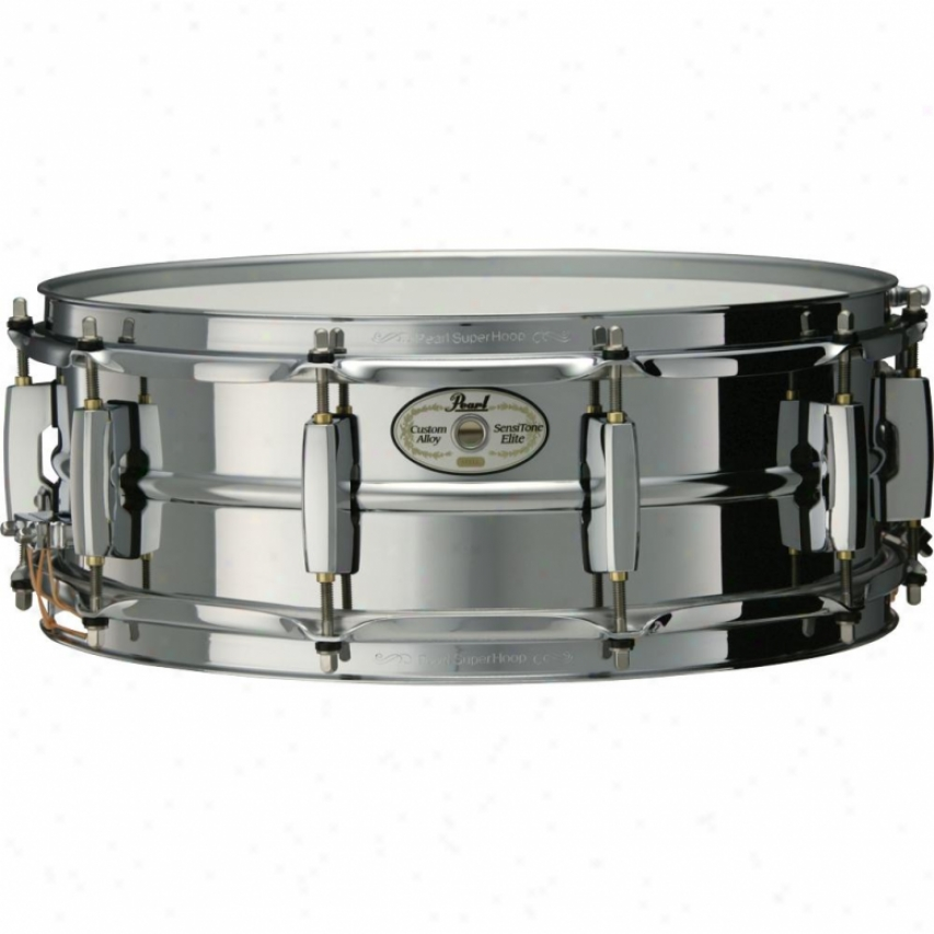 Peqrl Sensitone Snare Drum - Steel - Ste1450s