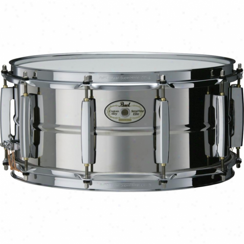 Pearl Sensitone Snare Drum - Steel - Ste1465s