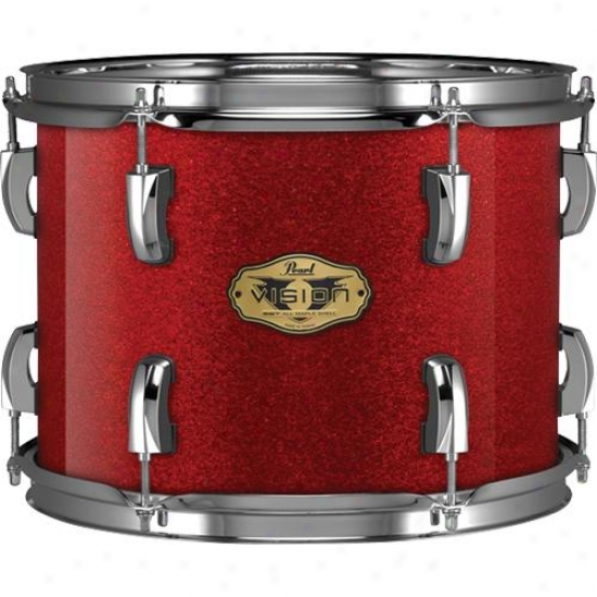 Pearl Vmx-905/c362 5 Piece Drumset - Red Sparkle Finish