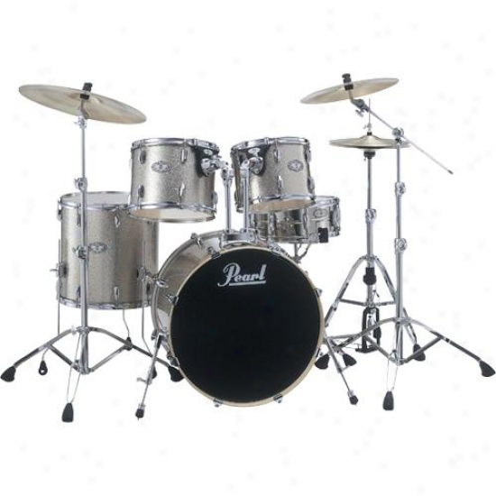 Pearl Vsx925c443 5 Piece Drum Kit - Champagne Sparkle