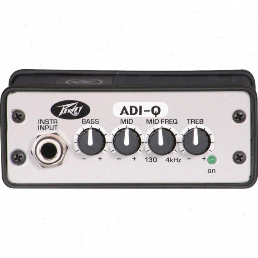 Peavey Adi-q Active Direct Interface With Eq - 03001310
