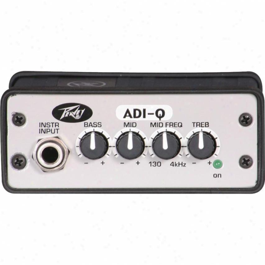 Peavey Adi-q Active Direct Interface With Eq - 03001310