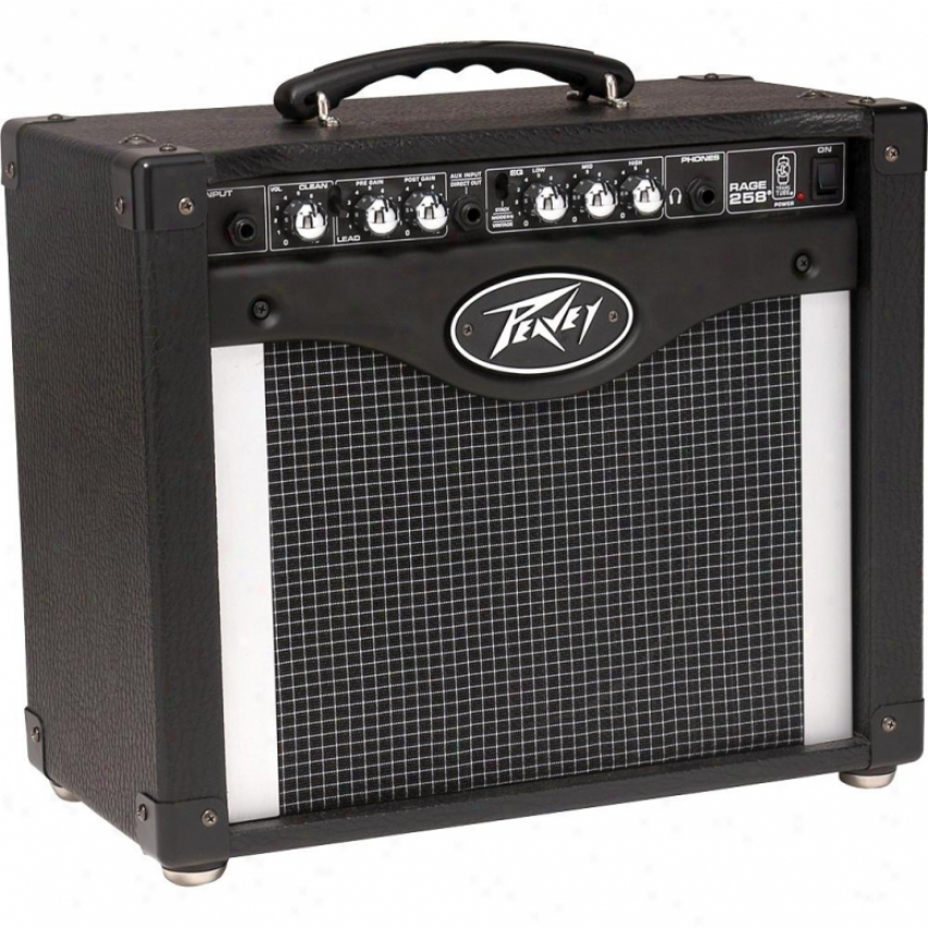 "Peavey Open Box Rage 258 8"" 25-watt Guitar Combo Amp With Transtube"