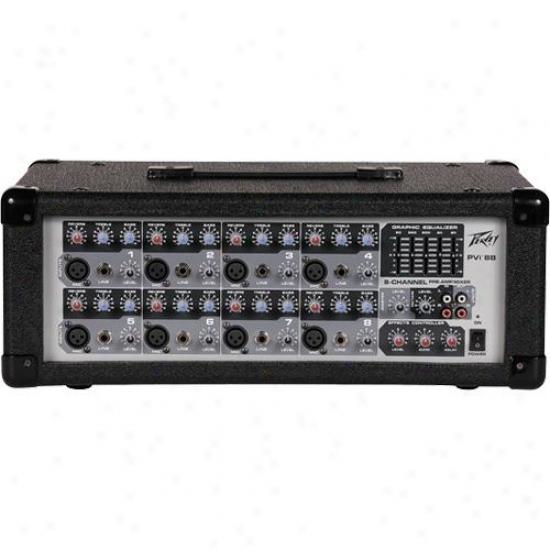 Peavey Pvi 8b Professional Audio Mixer