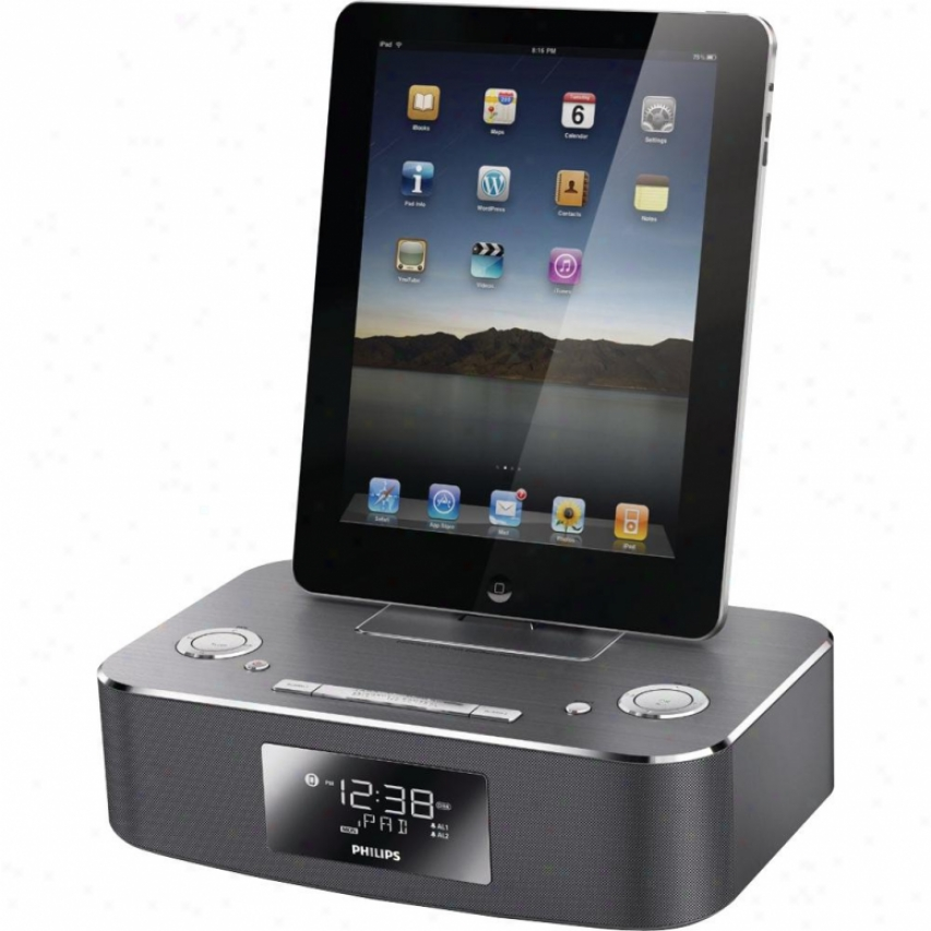 Philips Dc291 Alumnum Docking System For Iphone/ipod