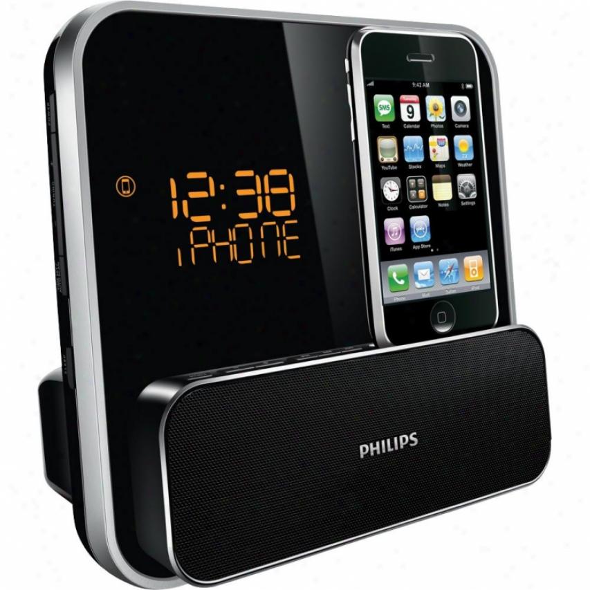 Philips Dc315 Alarrm Clock Radio For Ipod/iphone