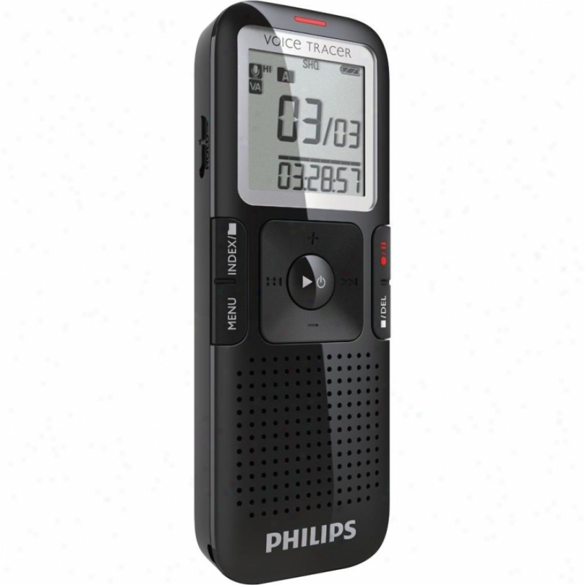 Philips Dig Recorder- Low Noise Mic