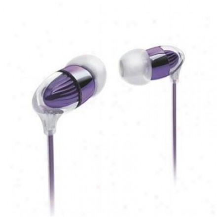 Philips In-ear Headphone-purple