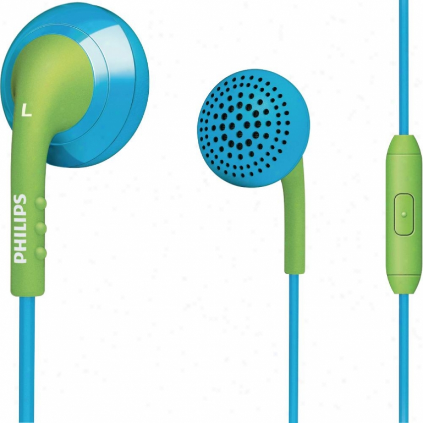 Philips In-ear Headset She2675bg/28 Blue/ggreen