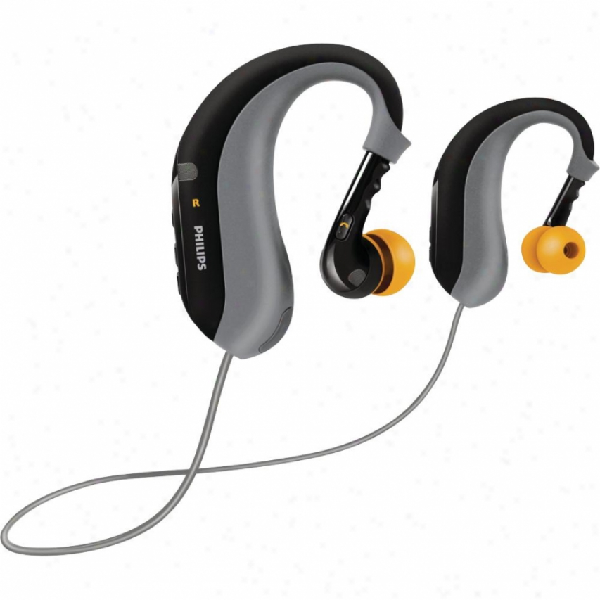 Philips Shb6000 Sports Ear Clip Bluetooth Stereo Headsets