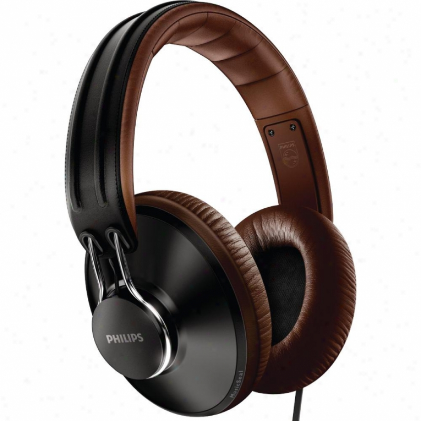 Philios Shl5905-bk Citiscape On-ear Uptown Headphones - Black