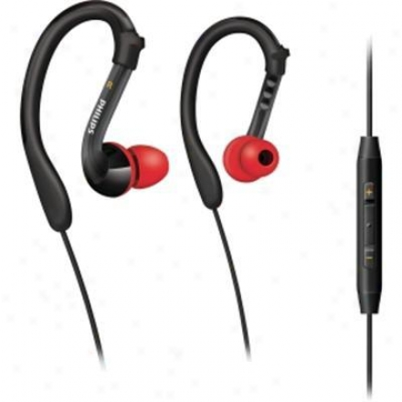 Philips Shq3017/28 Blk/red