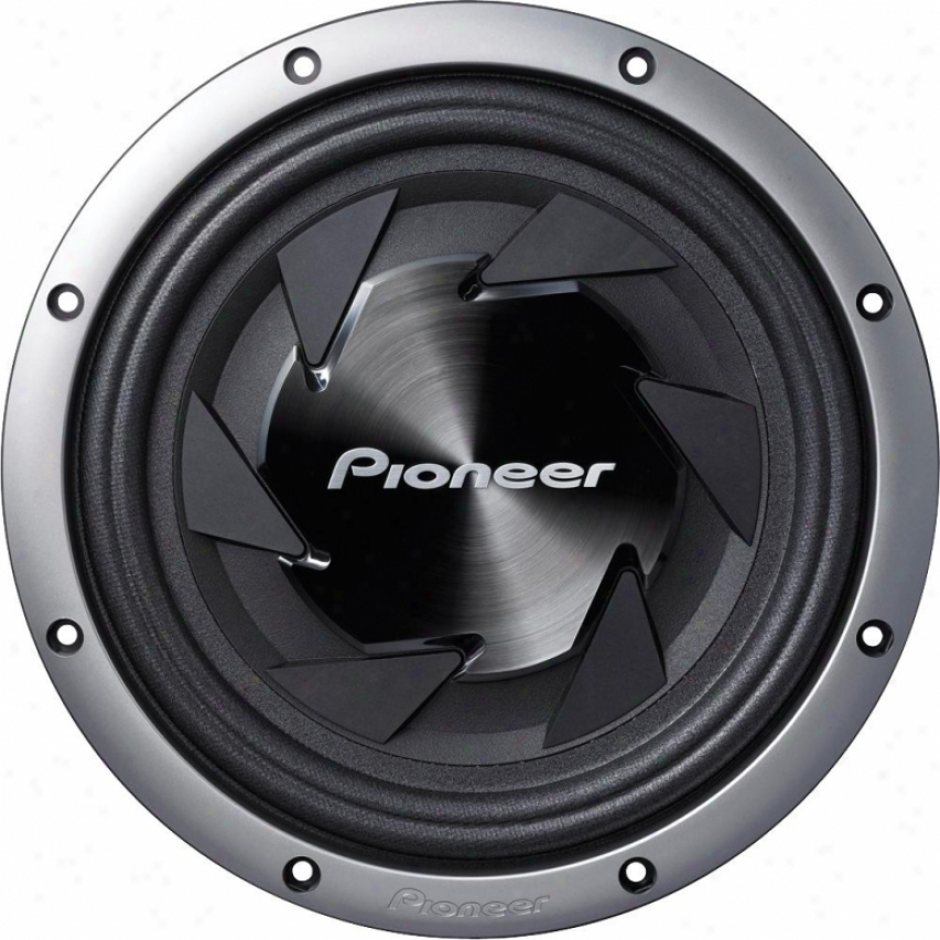 Pioneer 12&quot; Shallow Mount Impp Component Subwoofer W/1000 Watts Max. Power