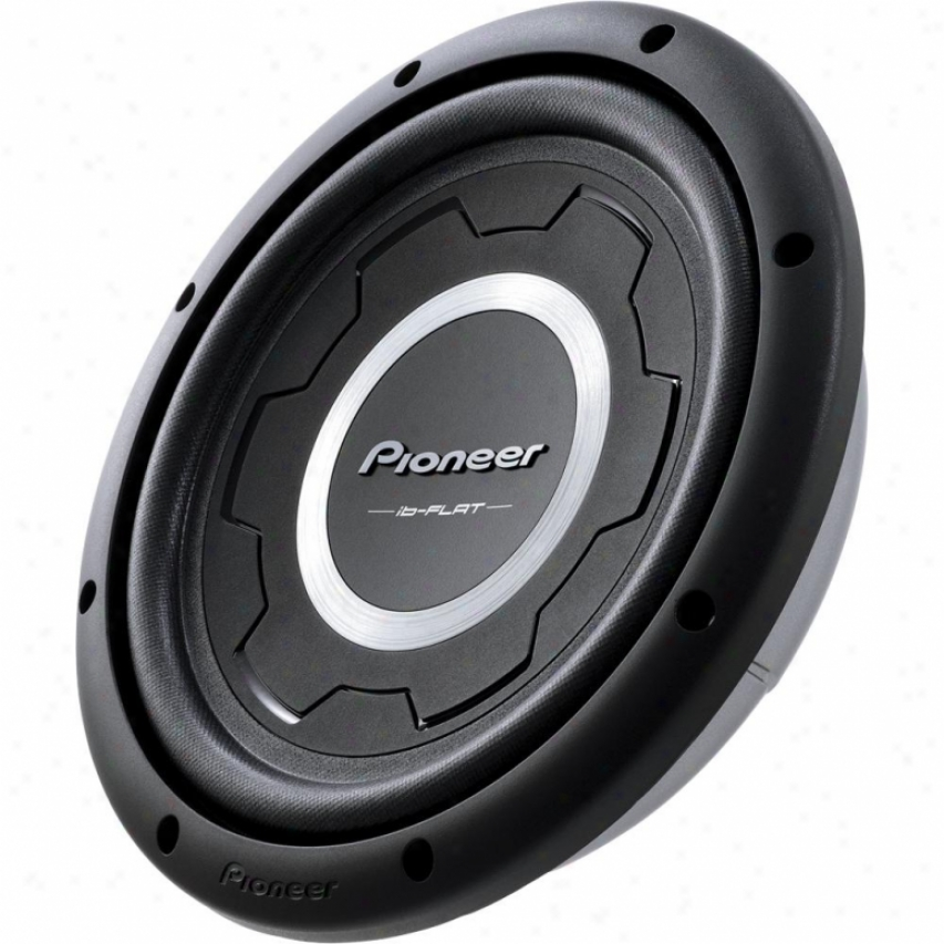 "Pioneer 12"" Shallow Mount Subwoofer W/1500 Watts Max. Power"