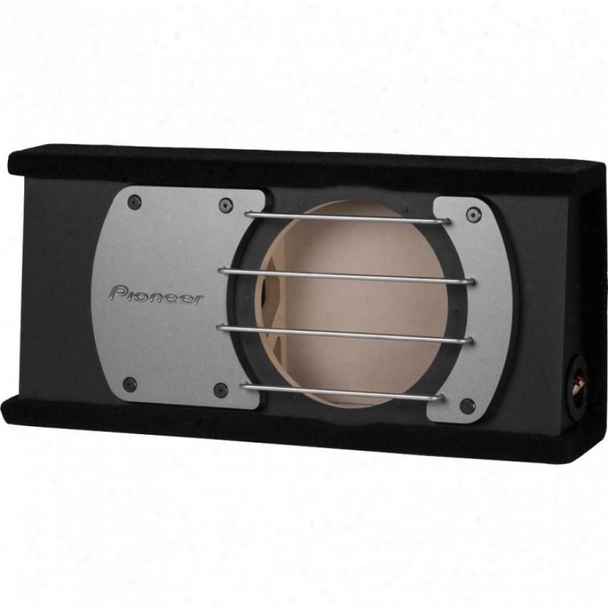 """Pioneer 12"""" Shallow Sealed Enclosure For Behind-seat Use"""