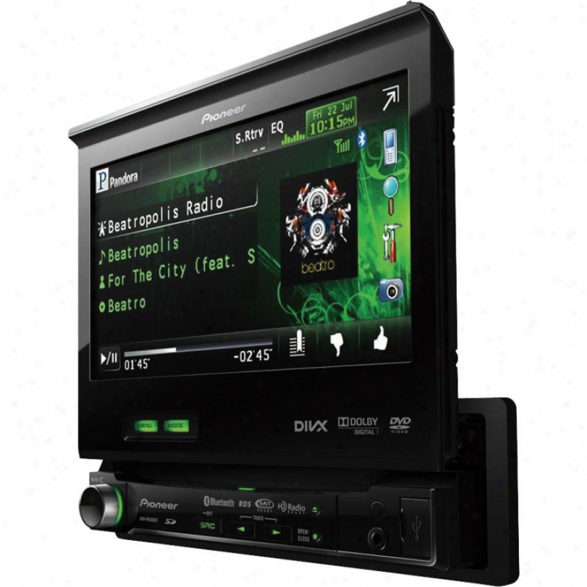 Pioneer Avh-p6300bt 7-inch In-dash Dvd A/v Receiver With Ipod/iphone Control