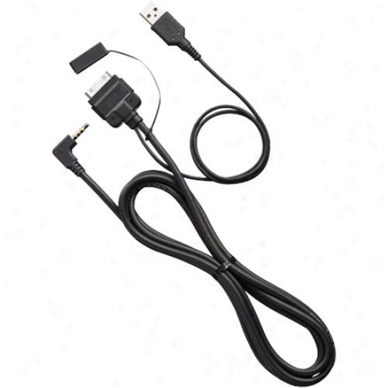Pioneer Cd-iu200v Uzb A/v Ipod/iphone Interface Cable For Avh-p410dvd