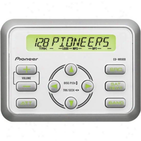 Pioneer Cd-mr80d Wired Marine Remote Control