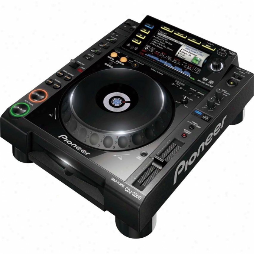 Pioneer Cdj-2000 Professional Multi Disc Player