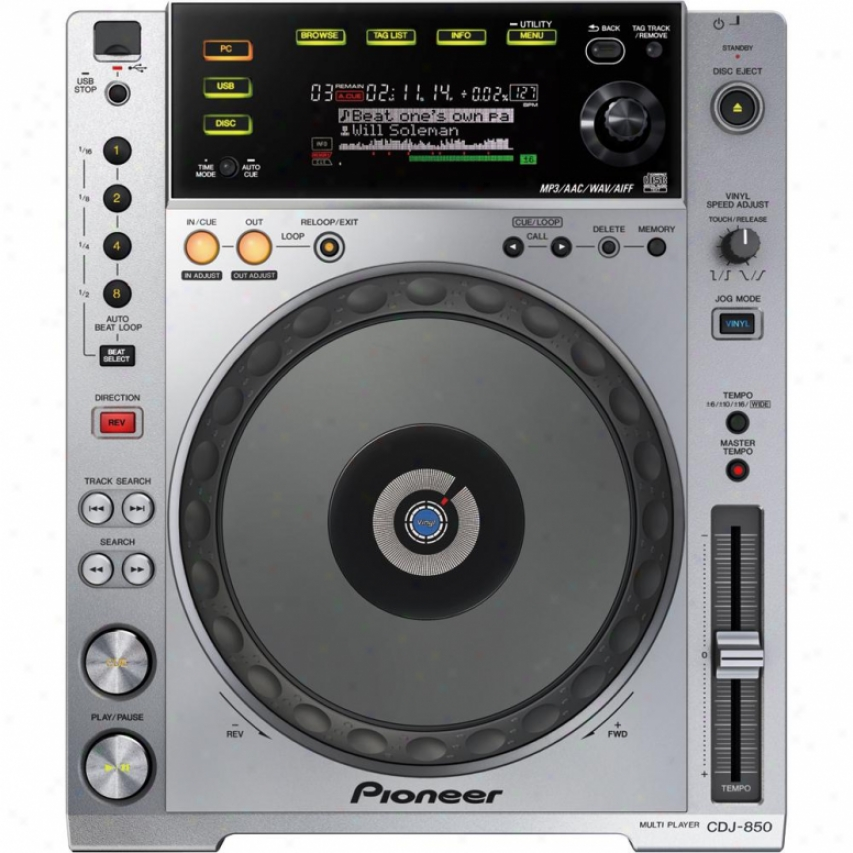 Pioneer Cdj-850 Pro Performance Cd Player