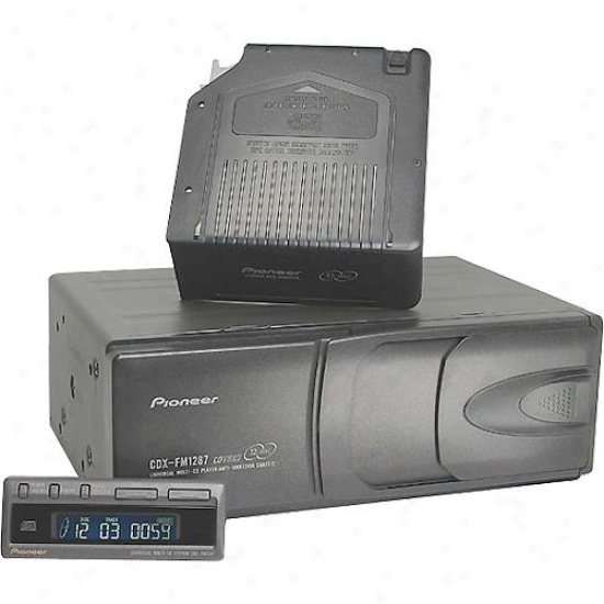 Pioneer Cdx-fm1287 Universal Fm Modulated 12-disc Multi-cd Car Stereo System