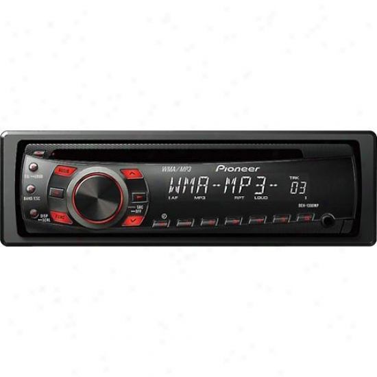 Pioneer Deh-1300mp Cd Receiver W/mp3/wma Playback Front Aux Input & Remote