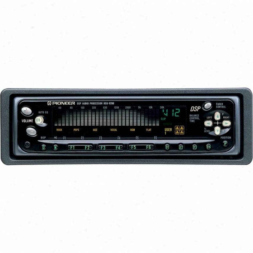 Pioneer Deq-9200 Universal Audio Processor