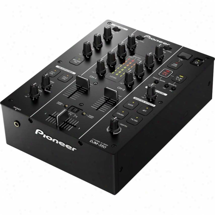 Pioneer Djm-350 2-chanenl Dj Mixer