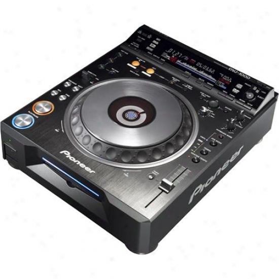 Pioneer Dvj1000 Pro Dj Dvd - Cd Turntable