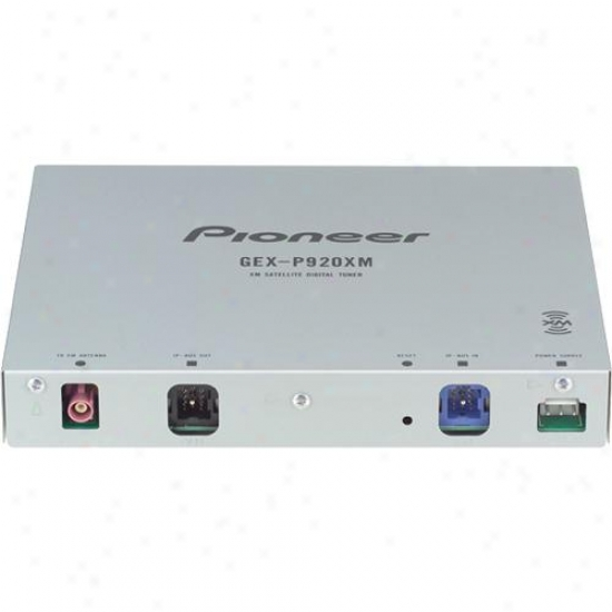 Pioneer Gex-p920xm Xm Digital Satellite Tuner For Car Stereos