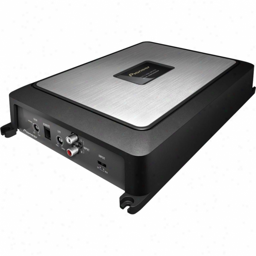 Pioneer Gm-d8500m Class-d Mono Vehicle Amplifier With 1200 Watts Max. Power