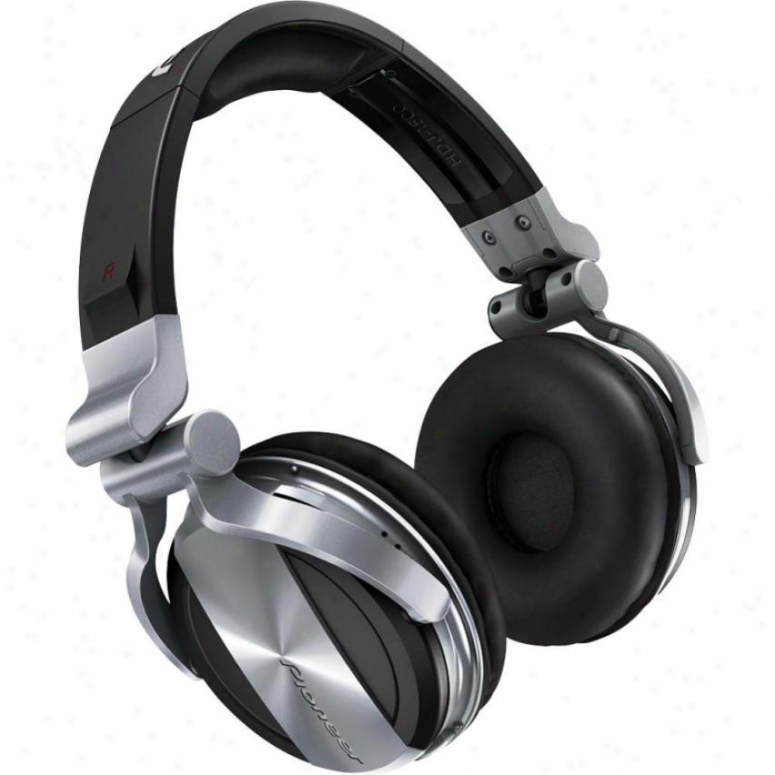 Pioneer Hdj-1500 Professional Dj Headphones - Silver