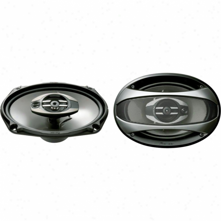 "Pioneer Ts-6963r 6"" X 9"" 3-way Car Speakers"
