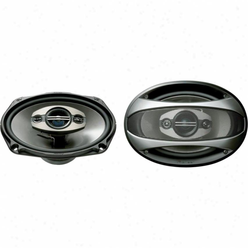 """Pioneer Ts-6983r 6"""" X 9"""" 4-way Car Speakers"""
