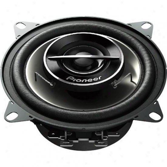 "Pioeer Ts-g1054r 4"" 2-way Ts Series Coaxial Car Speakers"