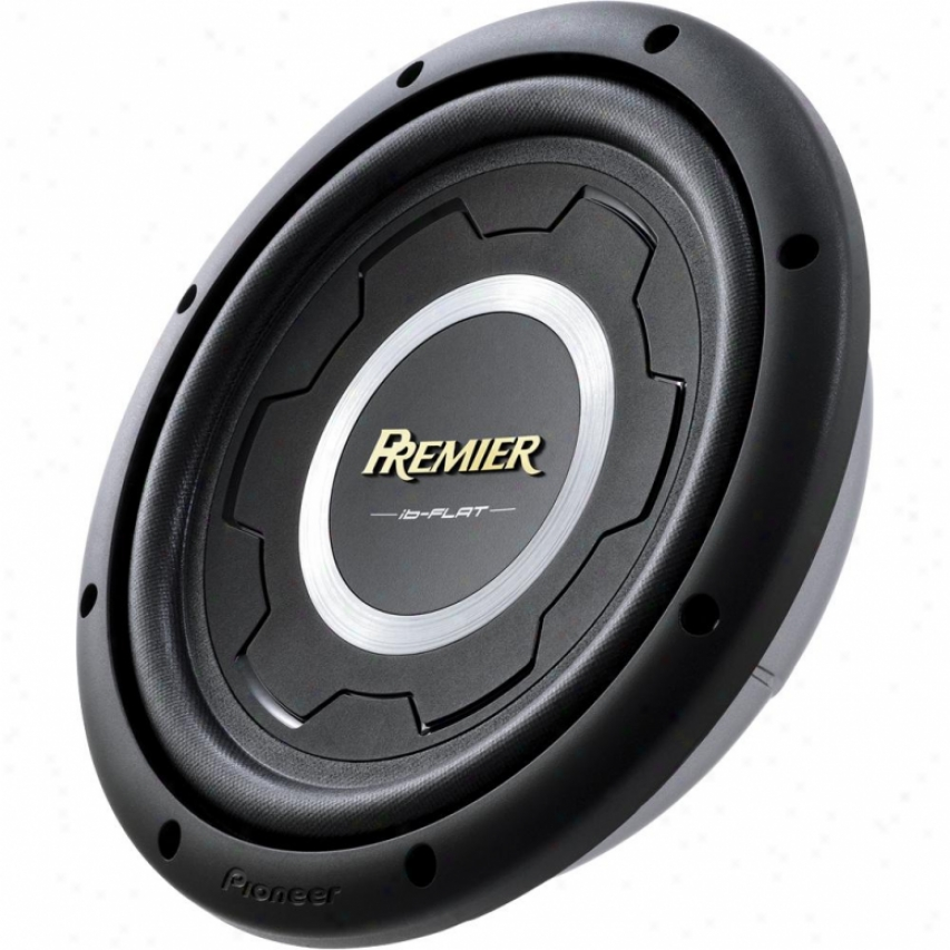"Pioneer Ts-sw2501s4 10"" Syallow-mount Subwoofer"